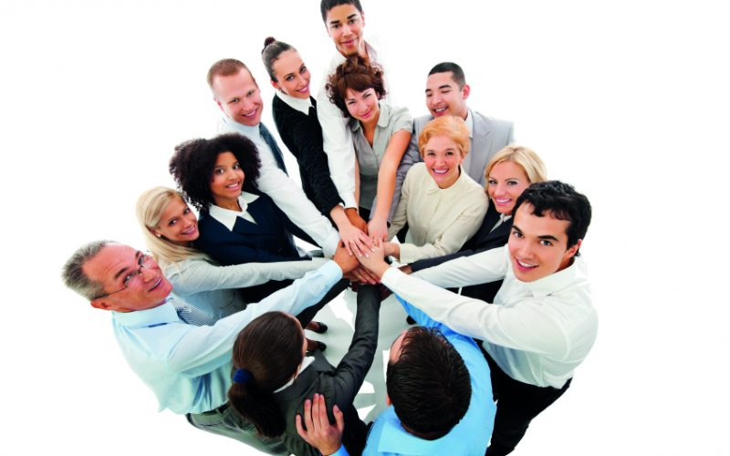 Business People In Circle Putting Their Hands Together. Isolated On White Background.  [url=http://www.istockphoto.com/search/lightbox/9786622][img]http://dl.dropbox.com/u/40117171/business.jpg[/img][/url]
